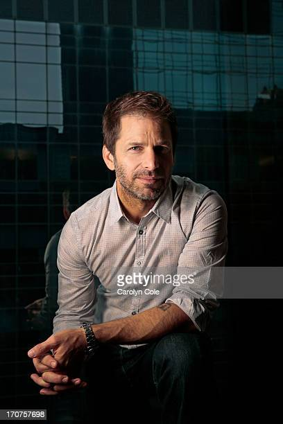 Director Zack Snyder is photographed for Los Angeles Times on June 10 2013 in New York City PUBLISHED IMAGE CREDIT MUST BE Carolyn Cole/Los Angeles...