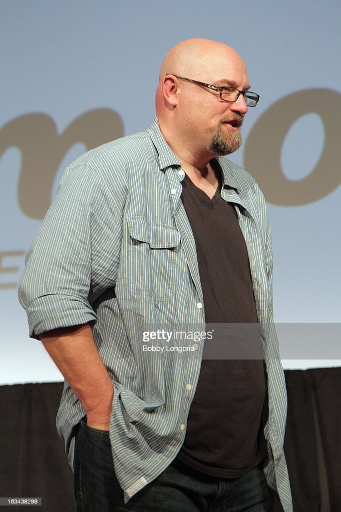 Director Zak Knutson speaks onstage at 'Milius' Q&A during the 2013 SXSW Music, Film + Interactive Festival at Austin Convention Center on March 9, 2013 in Austin, Texas.