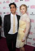 Director Zal Batmanglij and actress Brit Marling attend the 2013 Film Independent Spirit Awards at Santa Monica Beach on February 23 2013 in Santa...
