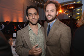 Director Zal Batmanglij and writer Drake Doremus attend the 2013 'Celebrate Sundance Institute' Los Angeles Benefit hosted by Tiffany Co at The Lot...