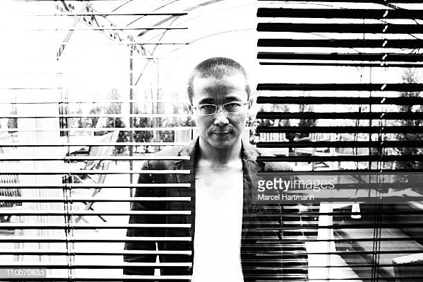 Director Zhao Liang is photographed for Self Assignment on May 20 2009 in Cannes France