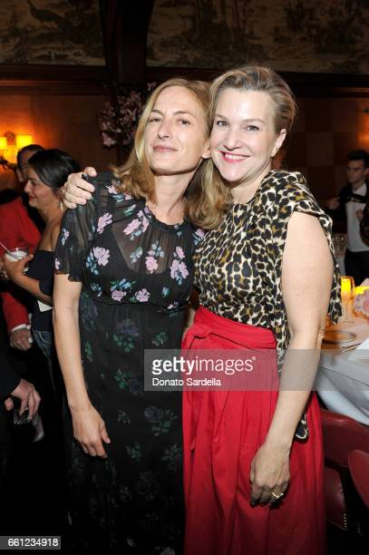Director Zoe Cassavetes and Vanity Fair executive west coast editor Krista Smith attend the Coach Rodarte celebration for their Spring 2017...