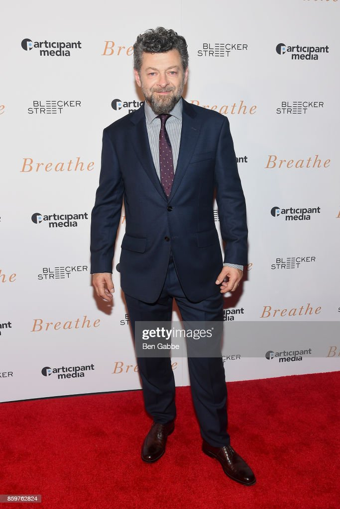 Director/actor Andy Serkis attends the 'Breathe' New York Special Screening at AMC Loews Lincoln Square 13 theater on October 9, 2017 in New York City.