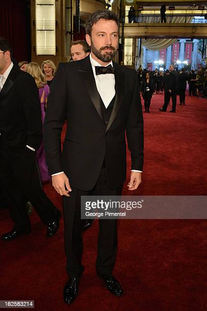 Director/Actor Ben Affleck arrives at the Oscars at Hollywood Highland Center on February 24 2013 in Hollywood California