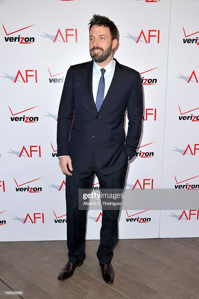 Director/actor Ben Affleck attends the 13th Annual AFI Awards at Four Seasons Los Angeles at Beverly Hills on January 11, 2013 in Beverly Hills, California.