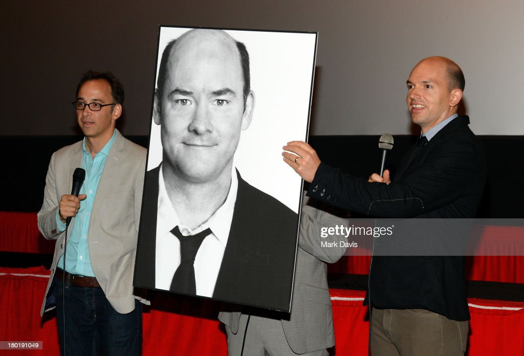 Director/actor David Wain (L) and actor Paul Scheer attend the 'Childrens Hospital' and 'NTSF:SD:SUV' screening event at the Vista Theatre on September 9, 2013 in Los Angeles, California. 24049_001_MD_0033.JPG