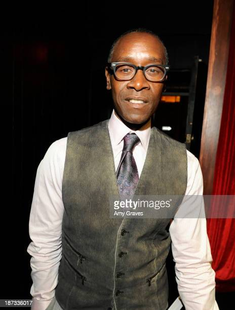 Director/Actor Don Cheadle attends the IM Global/UTA Reception for 'Kill The Trumpet Player' on November 7 2013 in Santa Monica California