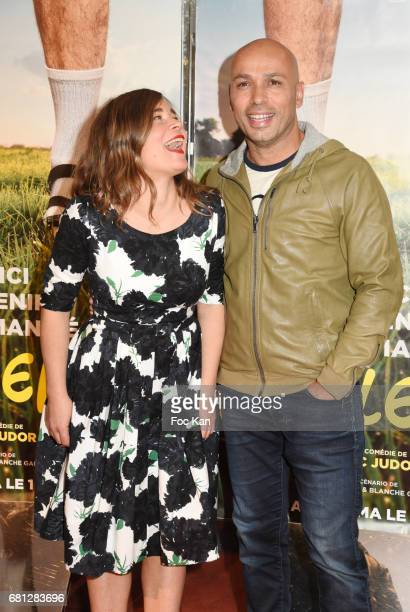 Director/actor Eric Judor and screenwriter/actress Blanche Gardin attend 'Problemos' Paris Premiere At UGC Cine Cite Les Halles on May 9 2017 in...