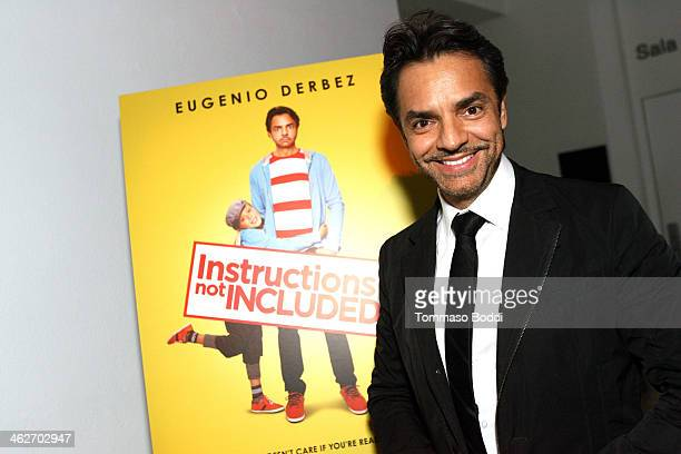 Director/Actor Eugenio Derbez attends the 'Instructions Not Included' screening and reception on January 14 2014 in Los Angeles California