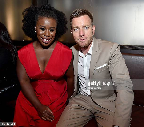 Director/actor Ewan McGregor and actress Uzo Aduba attend the Vanity Fair Lionsgate and Nordstrom 'American Pastoral' celebration during the Toronto...