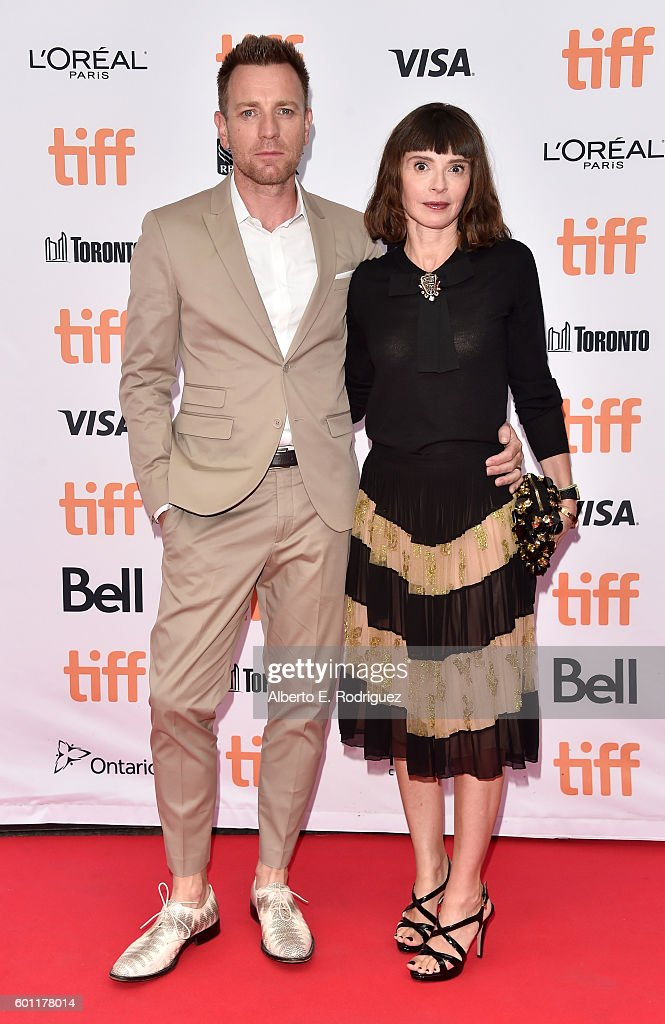 Director/Actor Ewan McGregor and wife Eve Mavrakis attend the 'American Pastoral' premiere during the 2016 Toronto International Film Festival at Princess of Wales Theatre on September 9, 2016 in Toronto, Canada.