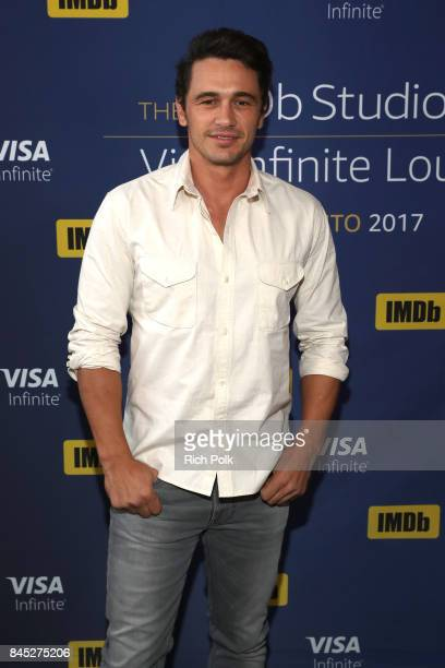 Director/actor James Franco of 'The Disaster Artist' attends The IMDb Studio Hosted By The Visa Infinite Lounge at The 2017 Toronto International...
