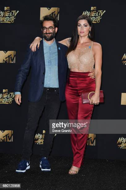 Director/actor Jay Duplass and actor Trace Lysette attend the 2017 MTV Movie and TV Awards at The Shrine Auditorium on May 7 2017 in Los Angeles...