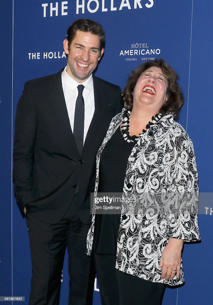 Director/actor John Krasinski and actress Margo Martindale attend the 'The Hollars' New York screening at Cinepolis Chelsea on August 18 2016 in New...