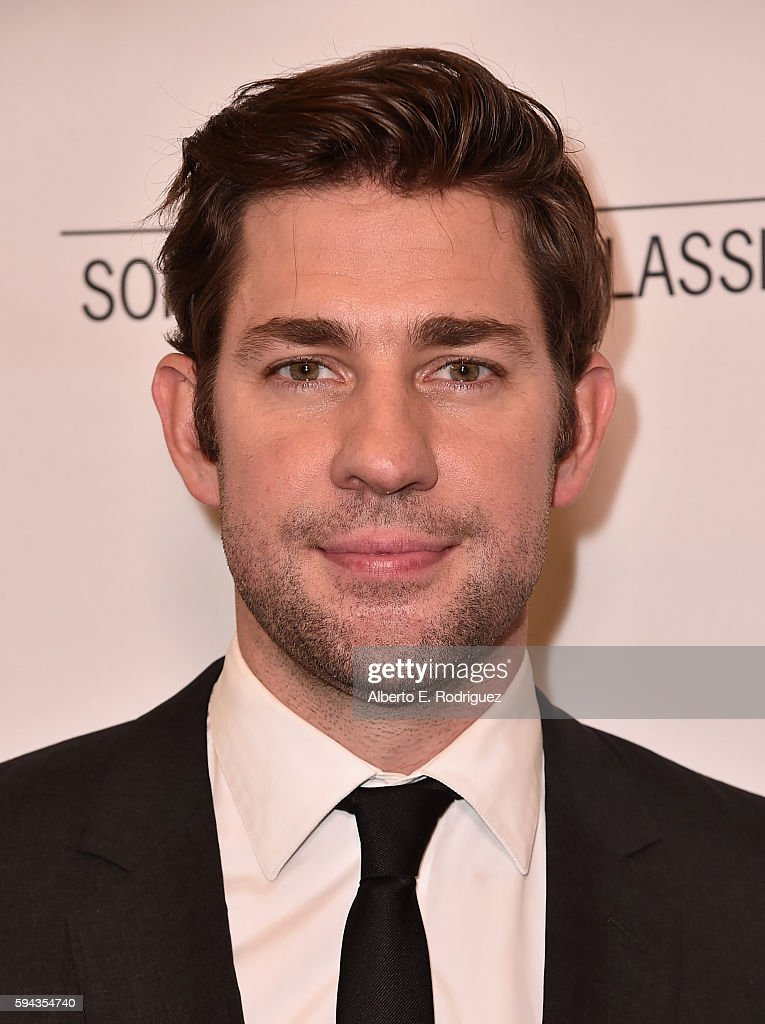 Director/actor John Krasinski attends a Los Angeles Special Presentation of Sony Pictures Classics' 'The Hollars' at Linwood Dunn Theater on August 22, 2016 in Los Angeles, California.