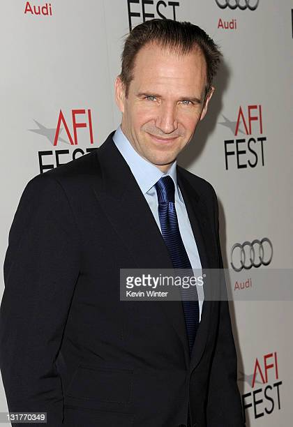 Director/actor Ralph Fiennes arrives at the 'Coriolanus' special screening during AFI FEST 2011 presented by Audi at Grauman's Chinese Theatre on...