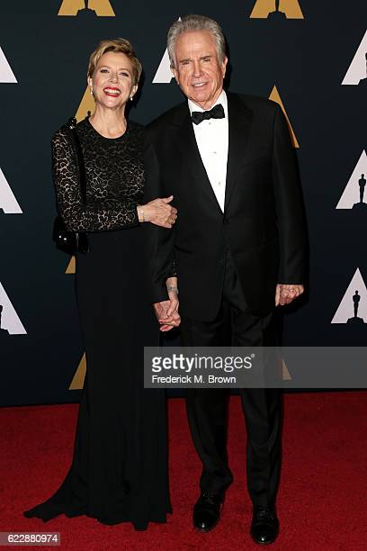 Director/Actor Warren Beatty and actress Annette Bening attend the Academy of Motion Picture Arts and Sciences' 8th annual Governors Awards at The...