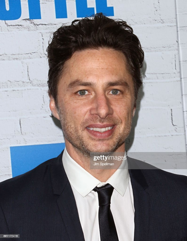 Director/actor Zach Braff attends the 'Going In Style' New York premiere at SVA Theatre on March 30, 2017 in New York City.