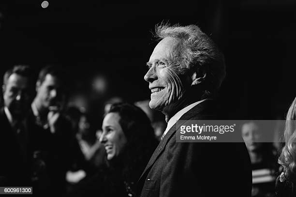 Director/actor/producer Clint Eastwood attends the screening of Warner Bros Pictures' 'Sully' at Directors Guild Of America on September 8 2016 in...