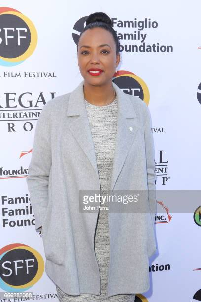 Director/actress Aisha Tyler arrives to the closing night ceremony and screening of 'Paris Can Wait' during the 2017 Sarasota Film Festival on April...