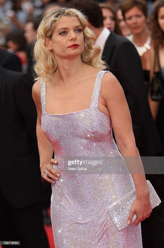 Director/actress Angela Ismailos attend the 'Outside Of The Law' Premiere at the Palais des Festivals during the 63rd Annual Cannes Film Festival on May 21, 2010 in Cannes, France.