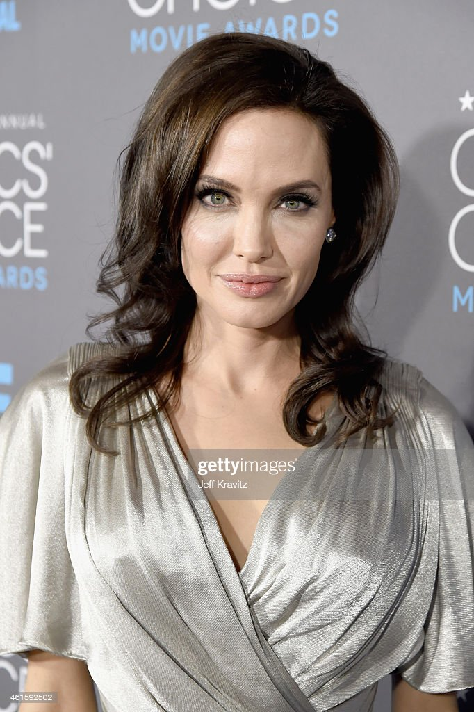 Director/actress Angelina Jolie attends the 20th annual Critics' Choice Movie Awards at the Hollywood Palladium on January 15, 2015 in Los Angeles, California.