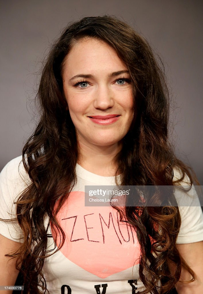 Director/actress April Mullen attends the 'Dead Before Dawn 3D' at the Movies On Demand Lounge during Comic-Con International 2013 at Hard Rock Hotel San Diego on July 19, 2013 in San Diego, California.
