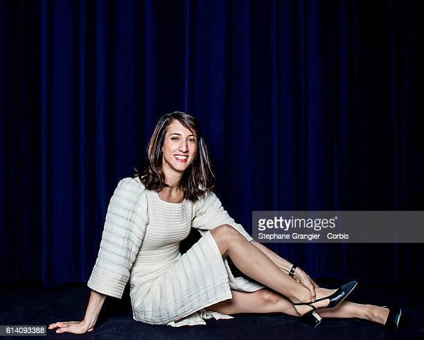 DirectorActress Deniz Gamze Erguven poses during a photoshoot in Paris on June 28 2016 in Paris France on September 26 2016 in Paris