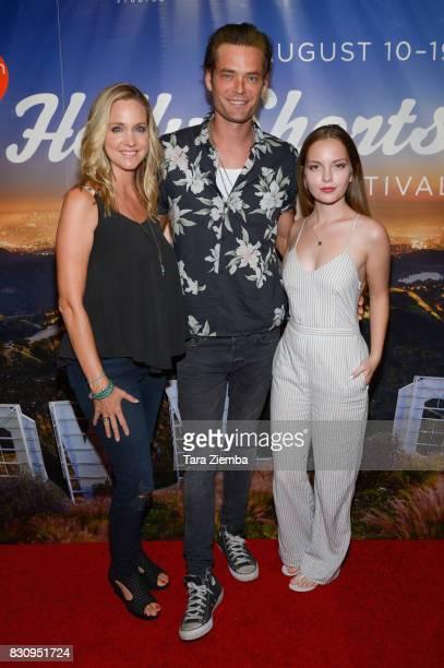 Director/actress Julia Barnett Christopher Backus and actress Jolie Vanier attend the Primetime Short Films series during the 2017 HollyShorts Film...