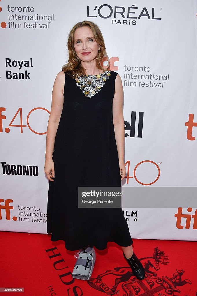 Director/Actress <a gi-track='captionPersonalityLinkClicked' href=/galleries/search?phrase=Julie+Delpy&family=editorial&specificpeople=201914 ng-click='$event.stopPropagation()'>Julie Delpy</a> attends the 'Lolo' premiere during the 2015 Toronto International Film Festival at Roy Thomson Hall on September 18, 2015 in Toronto, Canada.