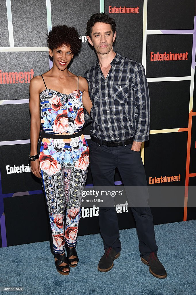 Director/actress Marta Cunningham (L) and her husband, actor James Frain, attend Entertainment Weekly's annual Comic-Con celebration at Float at Hard Rock Hotel San Diego on July 26, 2014 in San Diego, California.