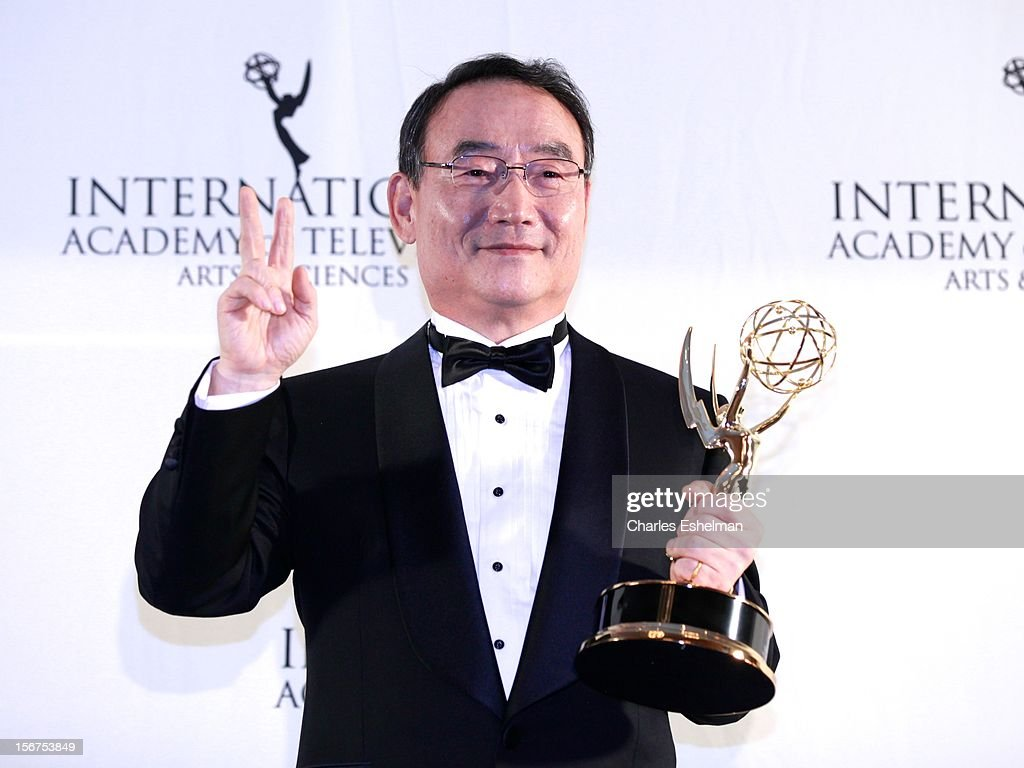 Directorate award winner Dr Kim In-Kyu attends the 40th International Emmy Awards at Mercury Ballroom at the New York Hilton on November 19, 2012 in New York City.
