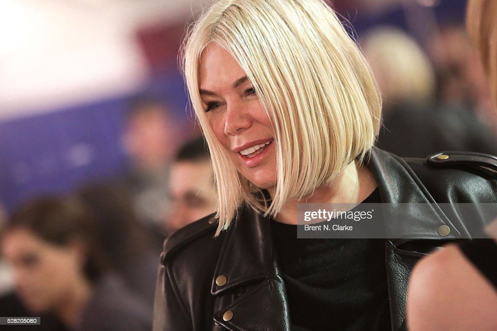 Director/choreographer Mia Michaels is seen during The Radio City Rockettes rehearsal for their upcoming production of 'New York Spectacular' at St. Paul The Apostle Church on May 4, 2016 in New York City.