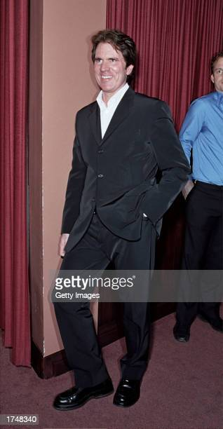 Director/choreographer Rob Marshall attends the special screening of 'Chicago' hosted by actress Sharon Stone at the Delancey Street Theater on...