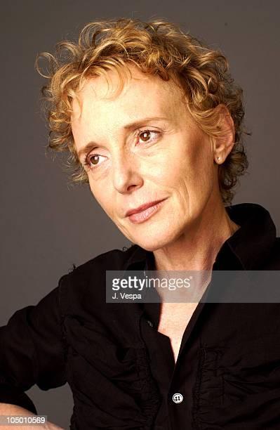 Director/cowriter Claire Denis during 2002 Toronto Film Festival 'Vendredi Soir' Portraits at Intercontinental Hotel in Toronto Ontario Canada