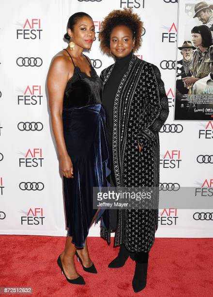 Director/Cowriter Dee Rees and writer Sarah Broom attend the screening of Netflix's 'Mudbound' at the Opening Night Gala of AFI FEST 2017 presented...