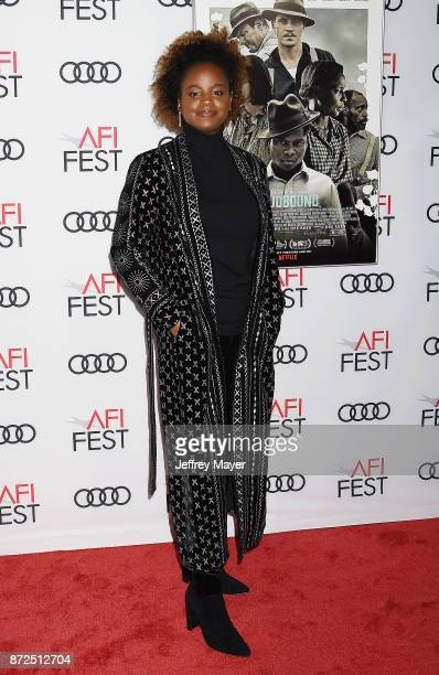 Director/Cowriter Dee Rees attends the screening of Netflix's 'Mudbound' at the Opening Night Gala of AFI FEST 2017 presented by Audi at TCL Chinese...