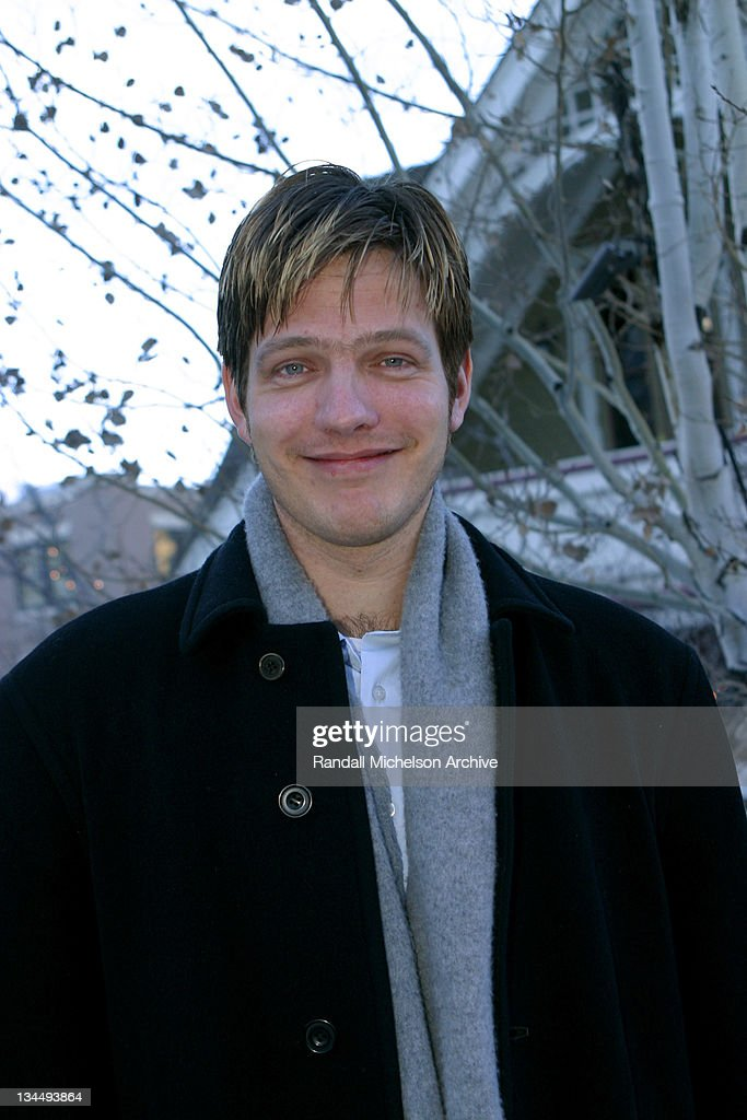 Director/cowriter Thomas Vinterberg during 2003 Sundance Film Festival 'It's All About Love' Outdoor Portraits at Main Street Park City in Park City...