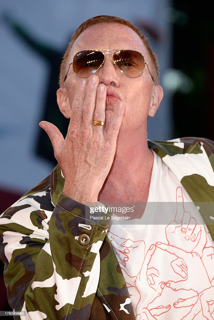 Directore Bruce LaBruce attends the 'Tracks' premiere during the 70th Venice International Film Festival at the Palazzo del Cinema on August 29, 2013 in Venice, Italy.