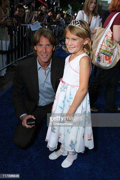 Director/Exec Producer Michael Bay and Sophie Bobal