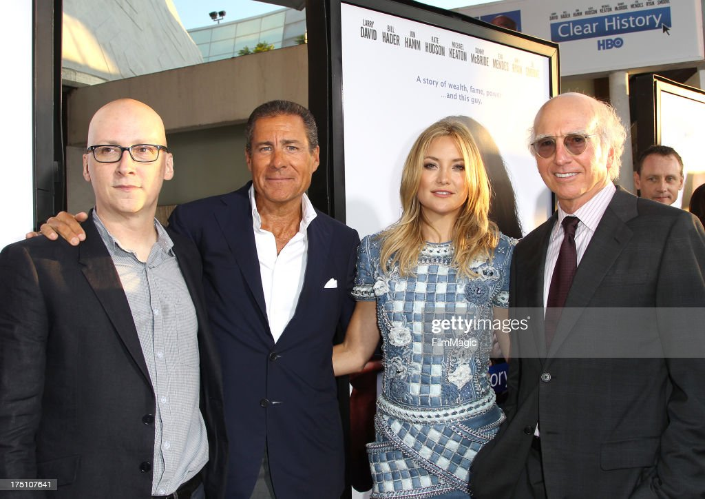 Director/Executive Producer Greg Mottola HBO Chief Executive Officer Richard Plepler actress Kate Hudson and writer/actor Larry David attend HBO's...