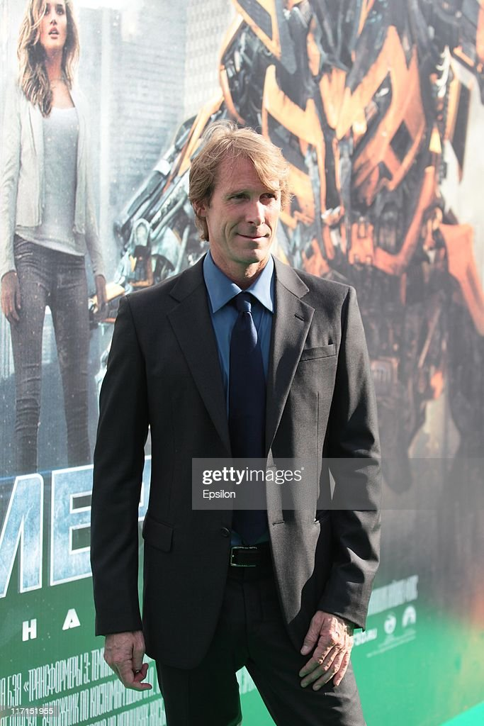 Director/Executive Producer <a gi-track='captionPersonalityLinkClicked' href=/galleries/search?phrase=Michael+Bay&family=editorial&specificpeople=240532 ng-click='$event.stopPropagation()'>Michael Bay</a> arrives at the premiere of the 'Transformers: Dark of the Moon' during the 33d Moscow International Film Festival at Pushkinskiy Theatre on June 23, 2011 in Moscow, Russia.