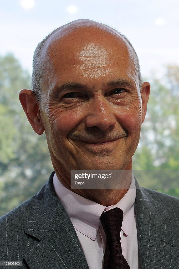 Director-General of the World Trade Organization <a gi-track='captionPersonalityLinkClicked' href=/galleries/search?phrase=Pascal+Lamy&family=editorial&specificpeople=220438 ng-click='$event.stopPropagation()'>Pascal Lamy</a> attends the Mouvement des Entreprises de France (MEDEF) Summer University conference on September 2, 2010 in Jouy-en-Josas, France. The MEDEF, the largest employers union in France, met as the government has proposed raising the age of eligibility for a full pension from 65 to 67.