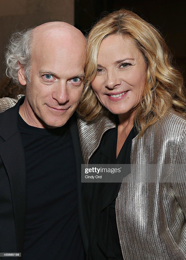 Director/photographer Timothy GreenfieldSanders and actress Kim Cattrall attend American Masters The Boomer List NYC Premiere on September 18 2014 in...