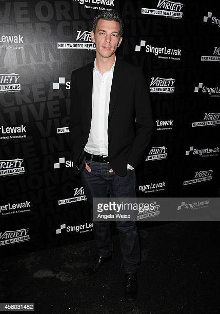 Director/porducer Josh Boone attends Variety's New Leaders Event at Chateau Marmont's Bar Marmont on October 28 2014 in Hollywood California