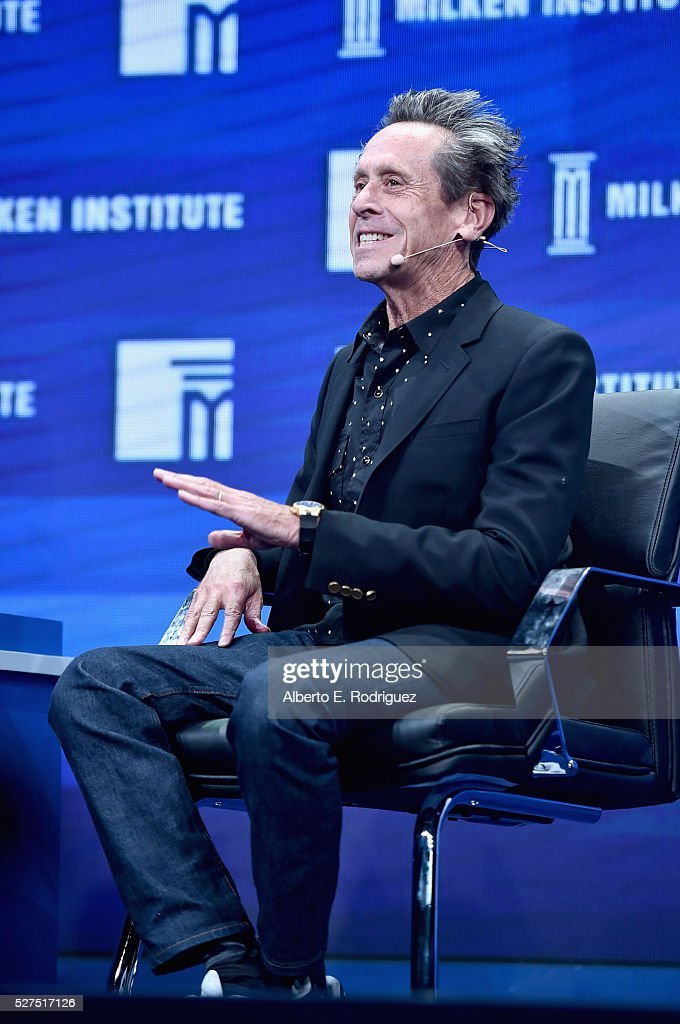 Director/Producer <a gi-track='captionPersonalityLinkClicked' href=/galleries/search?phrase=Brian+Grazer&family=editorial&specificpeople=203009 ng-click='$event.stopPropagation()'>Brian Grazer</a> speaks onstage during 2016 Milken Institute Global Conference at The Beverly Hilton on May 02, 2016 in Beverly Hills, California.