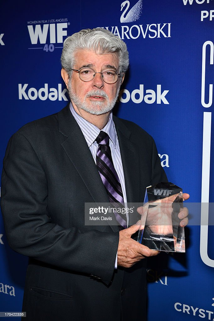 Director/producer <a gi-track='captionPersonalityLinkClicked' href=/galleries/search?phrase=George+Lucas&family=editorial&specificpeople=202500 ng-click='$event.stopPropagation()'>George Lucas</a> attends Women In Film's 2013 Crystal + Lucy Awards at The Beverly Hilton Hotel on June 12, 2013 in Beverly Hills, California.