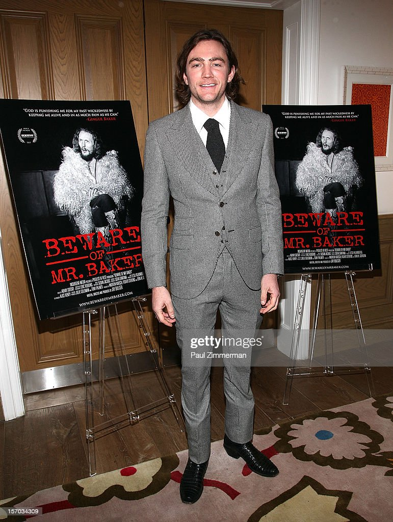 Director/Producer Jay Bulger attends 'Beware Of Mr. Baker' New York Screening at Crosby Street Hotel on November 27, 2012 in New York City.