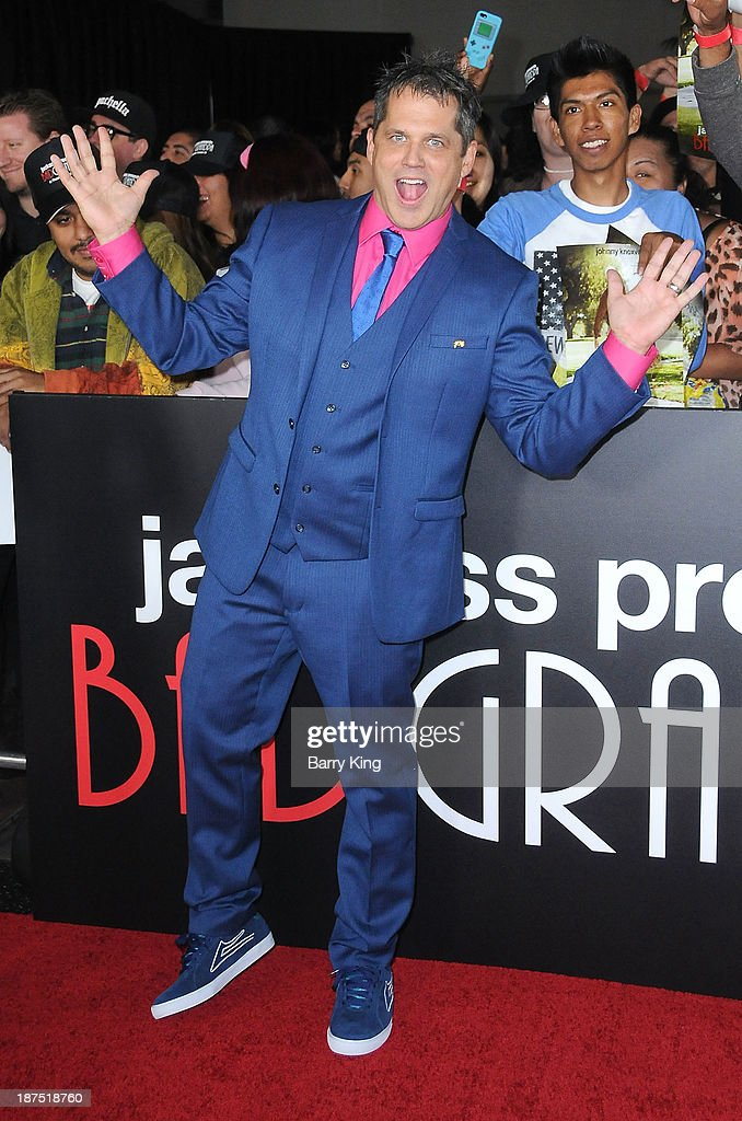 Director/producer <a gi-track='captionPersonalityLinkClicked' href=/galleries/search?phrase=Jeff+Tremaine&family=editorial&specificpeople=3164014 ng-click='$event.stopPropagation()'>Jeff Tremaine</a> attends the Los Angeles premiere of 'Bad Grandpa: Presented by Jackass' on October 23, 2013 at TCL Chinese Theatre in Hollywood, California.