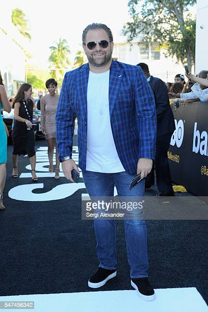 Director/Producer Joe Carnahan attends the HBO Ballers Season 2 Red Carpet Premiere and Reception on July 14 2016 at New World Symphony in Miami...